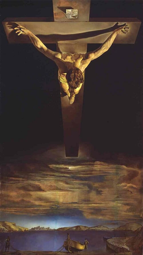 Christ of Saint John of the Cross, 1951 by Salvador Dali