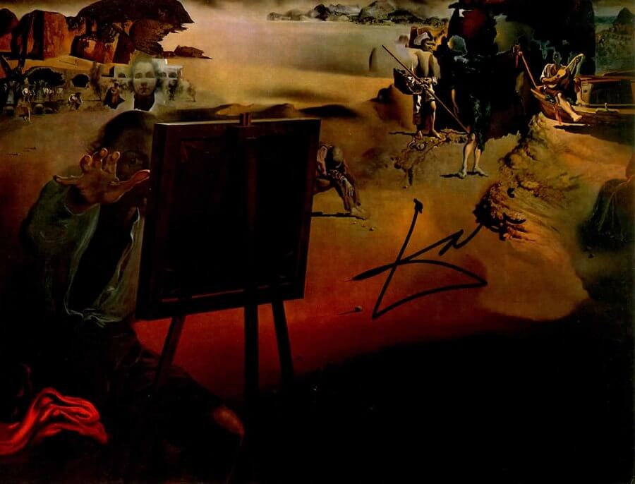 Impressions of Africa, 1938 by Salvador Dali