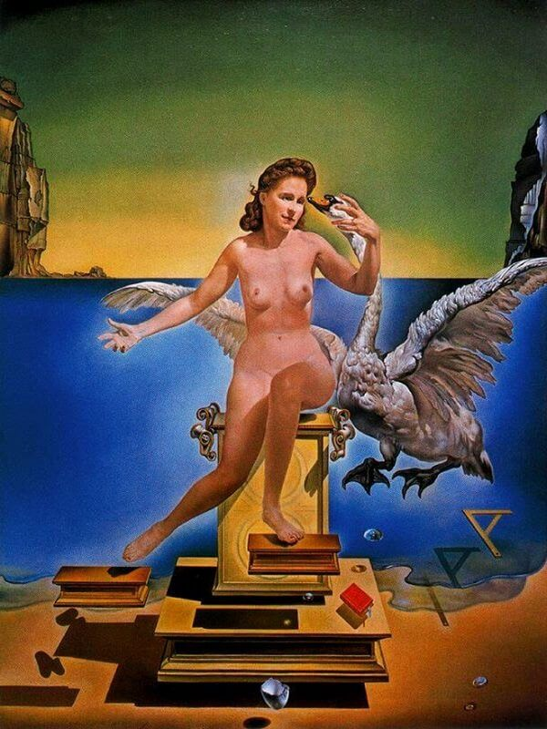 The Leda Atomica, 1949 by Salvador Dali