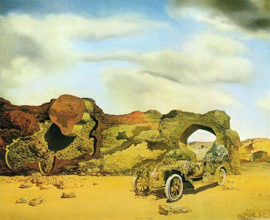 Paranoiac-Critical Solitude, 1935 by Salvador Dali