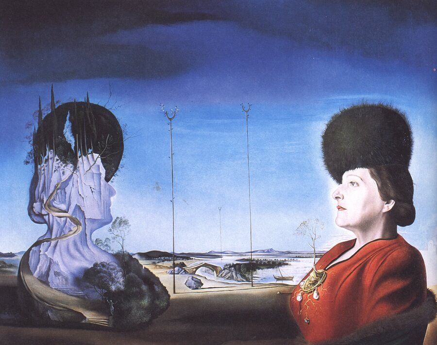The Portrait of Frau Isabel Styler-Tas, 1945 by Salvador Dali