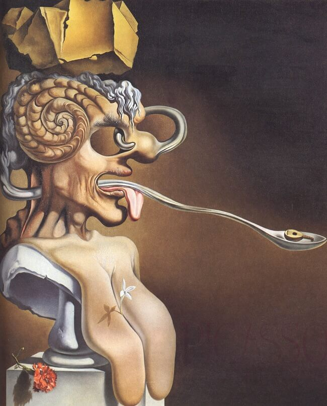 The Portrait of Picasso, 1947 by Salvador Dali