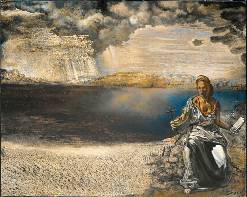 Saint Helena of Port Lligat, 1956 by Salvador Dali