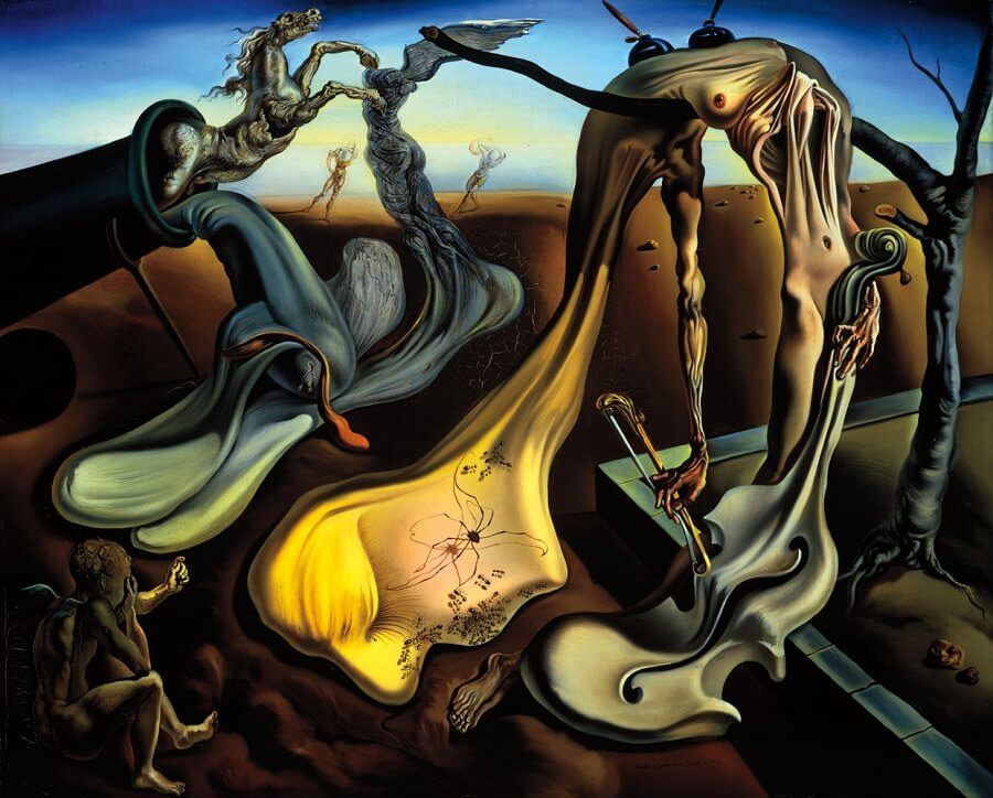 Spider of the Evening 1940 by Salvador Dali