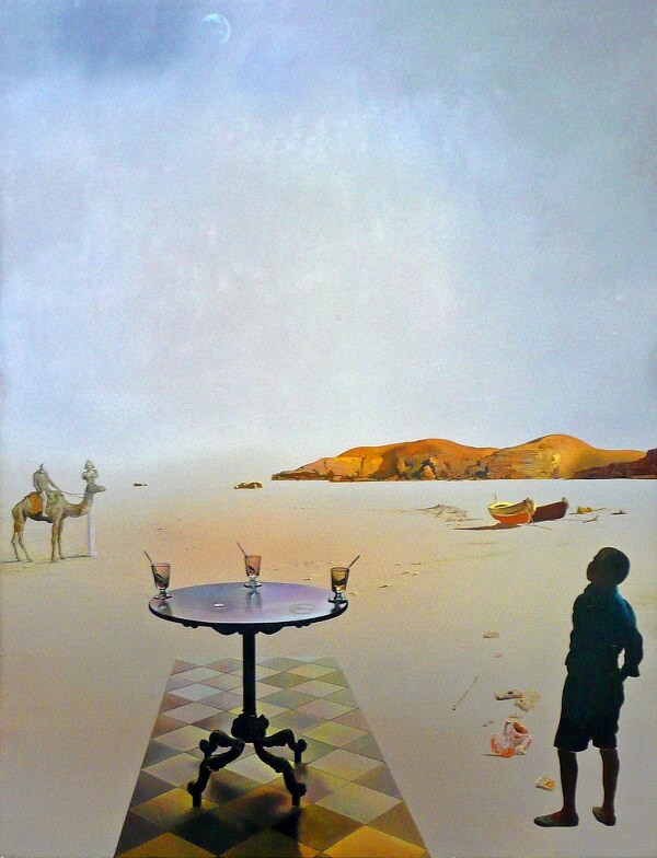 Sun Table, 1936 by Salvador Dali