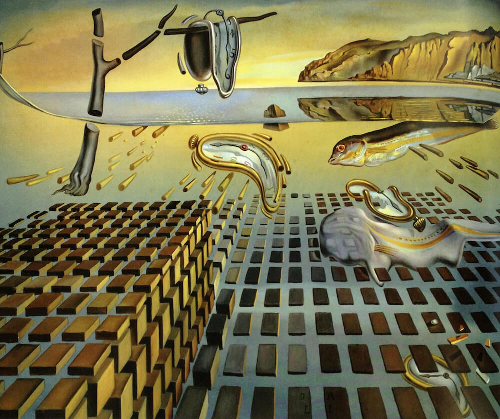 The Disintegration of the Persistence of Memory, 1954 by Salvador Dali