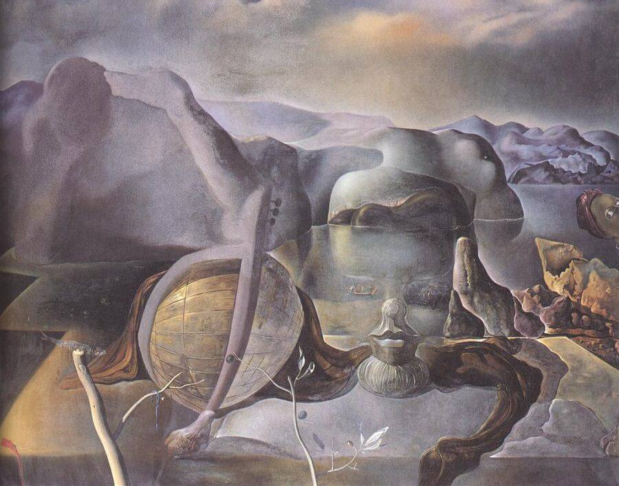 The Endless Enigma, 1938 by Salvador Dali