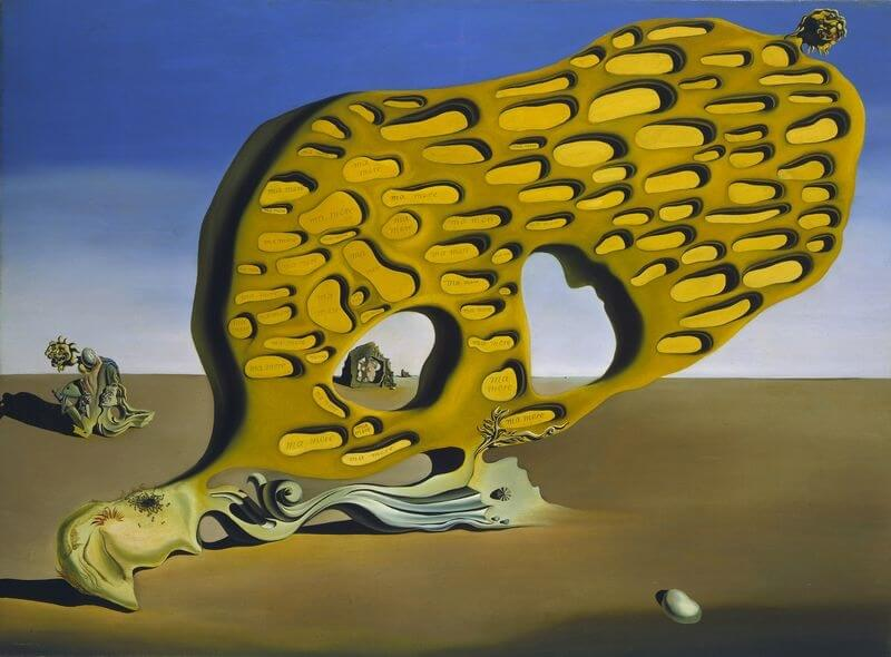 The The Enigma of My Desire, 1929 by Salvador Dali