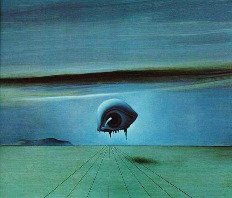 The Eye, 1945 by Salvador Dali