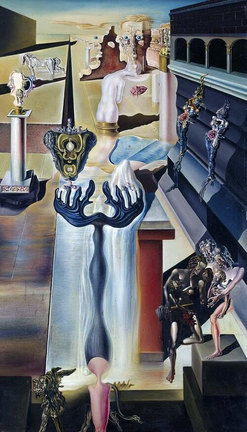 The The Invisible Man, 1929-32 by Salvador Dali