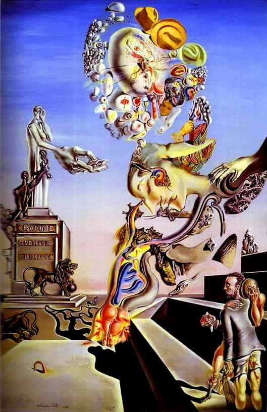The Lugubrious Game, 1929 by Salvador Dali