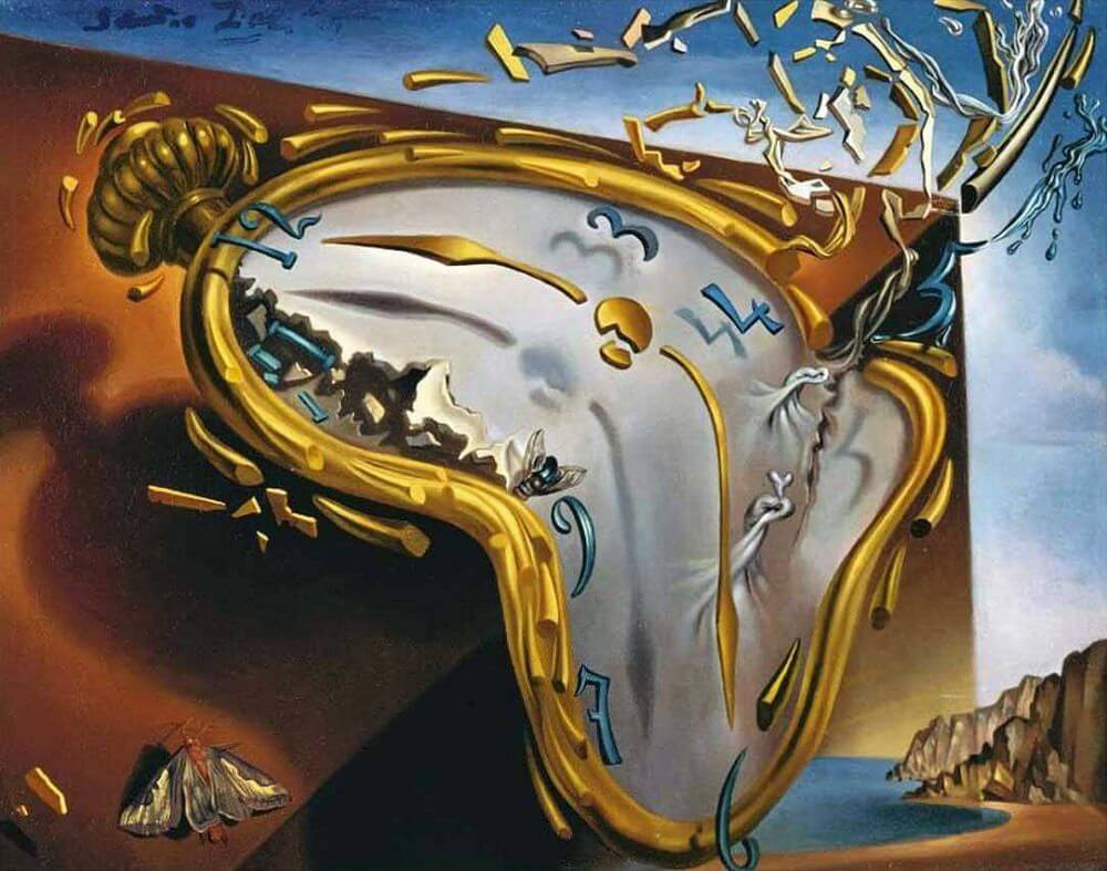 The Melting Watch, 1954 by Salvador Dali