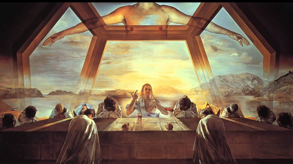 The Sacrament of the Last Supper, 1955 by Salvador Dali
